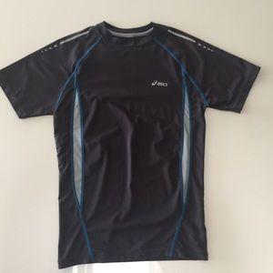 Mens small ASICS gym running shirt